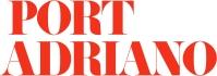 Logo Port Adriano con fondo